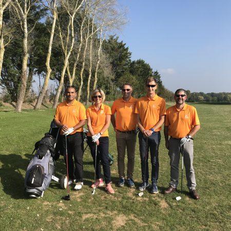 Golf octobre 2018 découverte Garcelles