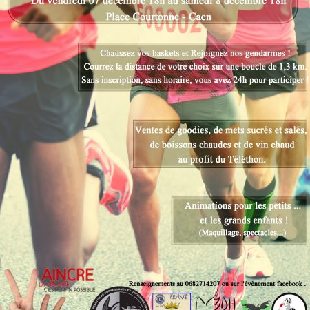 Course à pied Téléthon 2018 - les 24h du Port