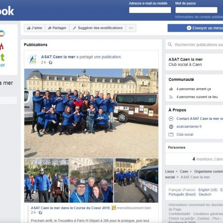 Facebook - page officielle