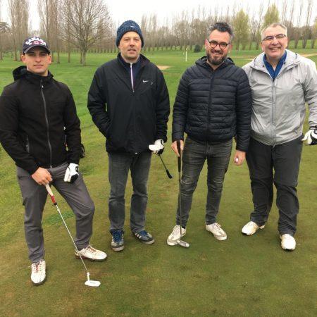 Golf mars 2019 Nico et Bertrand au golf de Saint-Julien