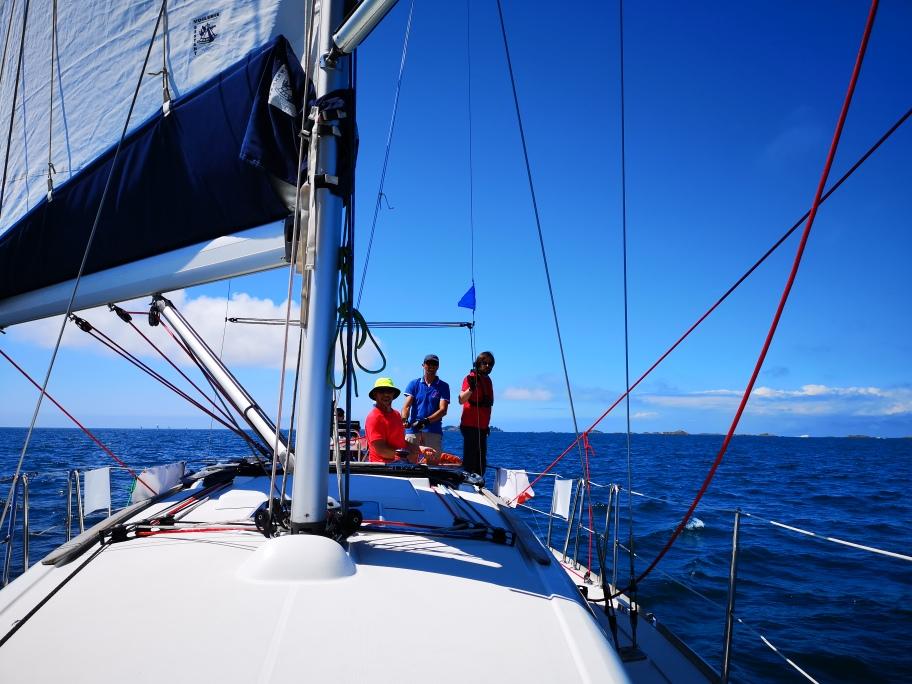 Retour sur la sortie voile du 4 septembre 2021 à bord du Caïpirinha